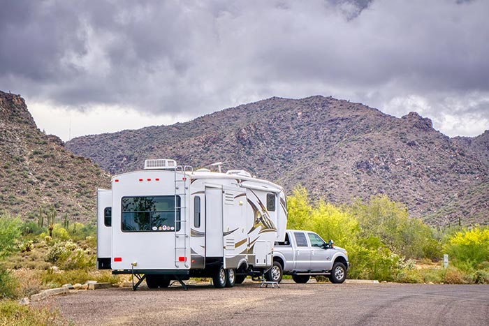 5th wheel Financing